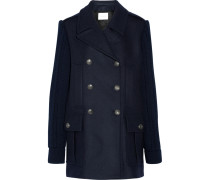 Doppelreihiger Mantel Aus Einer Wollmischung - Mitternachtsblau
