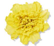 Blumenbrosche Aus Seide In Oversized-optik -