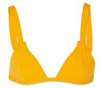 Fruity Triangel-bikini-oberteil - Gelb