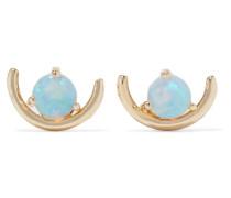 Arc Ohrringe aus 14 Karat  mit Opal