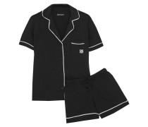 Signature Pyjama Aus Jersey Aus Einer Baumwollmischung -