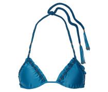 Imperial Bohemian Verziertes Triangel-bikini-oberteil - Kobaltblau