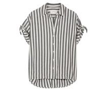 The Tie Gestreiftes Hemd Aus Baumwoll-twill -