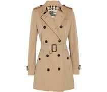 The Kensington mittellanger Trenchcoat aus Baumwoll-Gabardine
