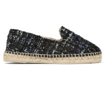 Paris Espadrilles Aus Tweed - Navy