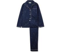 Bishop Pyjama Aus Bedruckter Baumwolle -