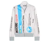 Bedrucktes Sweatshirt Aus Jersey - Grau