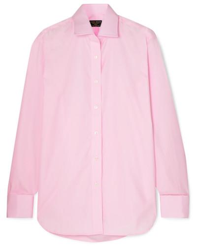 Jermyn Street Hemd aus Baumwollpopeline