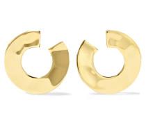 Senso® Luna Gehämmerte Ohrringe Aus 18 Karat