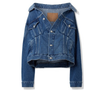 Oversized-jeansjacke -