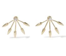 5 Spike Ohrringe Aus Gold Mit Diamanten