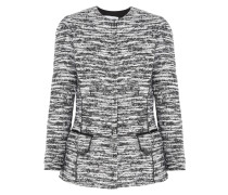 Jacke Aus Bouclé-tweed - Grau