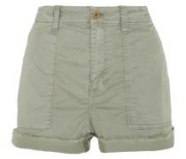 Shorts Aus Twill Aus Stretch-baumwolle -