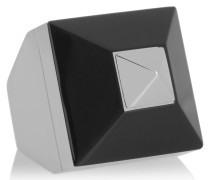 Silberfarbener Ring Aus Plexiglas®
