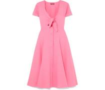 Alice Kleid aus Popeline aus einer Baumwollmischung