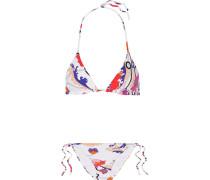 Ranuncoli Wendbarer Triangel-bikini Mit Print -