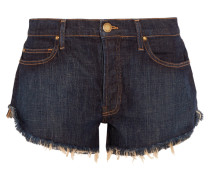The Cut Off Jeansshorts Mit Fransen -