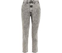 Lo Slung Boyfriend-jeans -