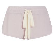 Heather Pyjama-shorts Aus Jersey - Flieder