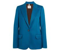 Blazer Aus Woll-twill - Kobaltblau