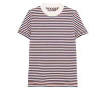 Remy T-shirt Aus Gestreifter Baumwolle -