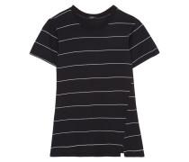 Gestreiftes T-shirt Aus Bio-baumwolle -