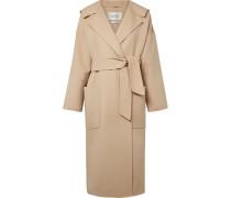 Mantel Aus Einer Woll-kaschmirmischung Mit Kapuze -