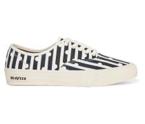 + Seavees Sneakers Aus Bedrucktem Canvas - Navy