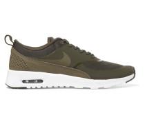 Air Max Thea Sneakers Aus Gummi, Stretch-mesh Und Leder Mit Krokodileffekt -