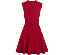 Minikleid Aus Jacquard-strick -