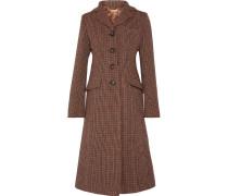 Mantel Aus Tweed - Braun