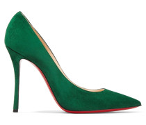 Decoltish 100 Pumps aus Veloursleder