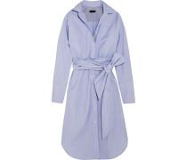 + Thomas Mason Sybil Kleid Aus Baumwolle - Blau