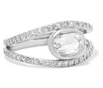 Collection Ring aus Platin mit Diamanten -