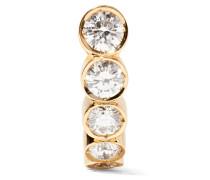 Petite Boucle Ohrring Aus 18 Karat  Mit Diamanten