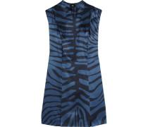 Bedrucktes Kleid Aus Seiden-jacquard -
