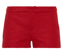 Shorts Aus Hightech-jersey Mit Rippstrickeinsatz -