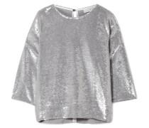 Naphe Oversized-t-shirt Aus Baumwolle Mit Pailletten -