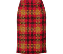 Rock Aus Woll-tweed Mit Karomuster -