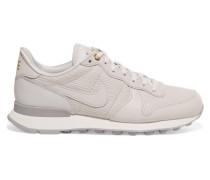 Internationalist Sneakers Aus Strukturiertem Leder -