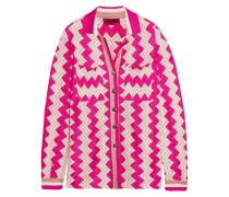 Hemd Aus Strick In Häkeloptik - Pink