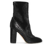 Calexa Sock Boots Aus Paillettenverziertem Stretch-twill -