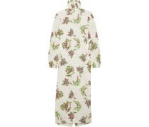 Alison Rollkragenkleid Aus Floral Bedrucktem Crêpe -