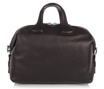 Medium Nightingale Tasche Aus Dunkelbraunem Leder