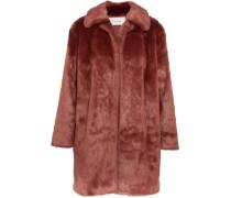 Mantel Aus Faux Fur -
