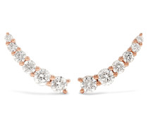Floating Ohrringe aus 18 Karat  mit Diamanten