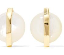 Senso® Ohrringe aus 18 Karat  mit Perlmutt