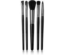 Set Aus Fünf Make-up-pinseln - Schwarz