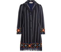 Luna Verzierter Mantel Aus Tweed Aus Einer Baumwollmischung -