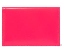 Kartenetui Aus Neon-leder - Pink